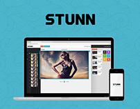 STUNN // landing page