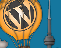 WordCamp Toronto 2014 Poster