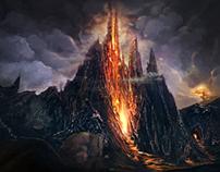 Enviroment Volcanic