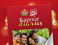 Brooke Bond Red Label - Family Diaries