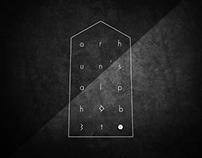 Font | Orhun's Alphabet