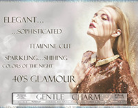Gentle Charm - trendbook for 40's glamour