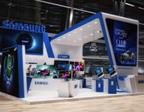Samsung ICT 2012 Exhibtion