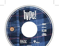 Hype! — DVD Packaging artwork (June 2006)