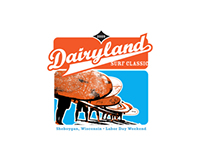 Dairyland Surf Classic, Logotype