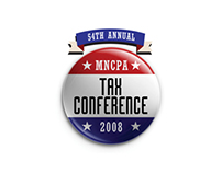MNCPA Tax Conference, Logotype