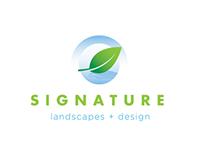 Signature Landscapes, Logotype