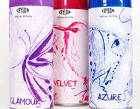Art Spray Paint Packaging