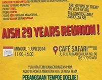 AISN Reunion Poster