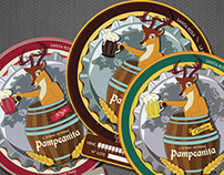 Cerveza Artesanal Pampeanita (Identity & Sticker)