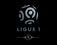 Ligue 1 & 2 Pro Football identity and branding