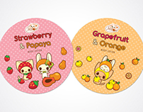 Kawaii Packaging Stickers