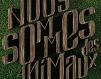 NOUS SOMMES DES ANIMAUX