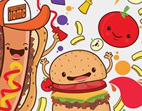 Ilustración Foodstock Home
