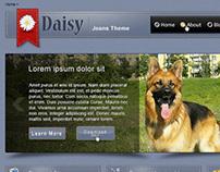Daisy Theme, Jeans Theme