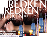 Redken Google image add campaign