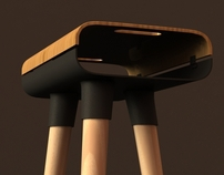 Jazz bar stool
