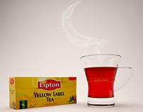3D lipton tea  شاي ليبتون
