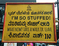 Signboards in Conversation