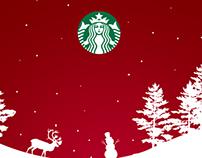 Starbucks Mock-up Holiday Poster