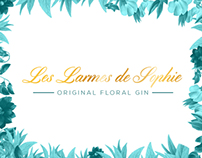 Les Larmes de Sophie : original floral gin