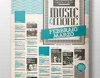 Cantine de L'Arena — Jazz Club Poster & Programme