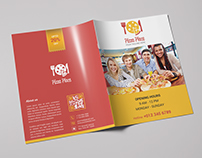 Pizza Place Bifold Brochure