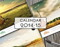 My Art Calendar 2014-15