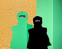 Green Hopes - Mixed-Media