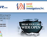 Half Fold Brochure for Social Media Investigations