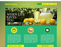 Farm Frenzy | HTML Web Site Template