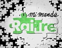 MI MANDA RAI TRE  Video Theme, Titles and Bumpers.