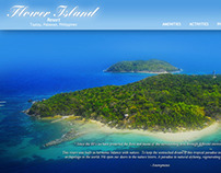 Flower Island Website