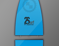 2SURF (collapsible surfboard)