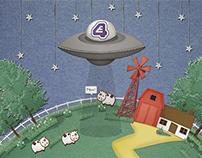 E4 E Sting 2013 - Animation