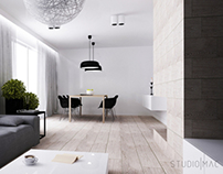 PROJECT OF DAILY AREA IN A DETACHED HOUSE