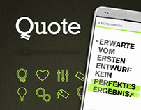 QUOTE - Application Design
