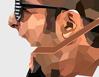 Polygonal Mohawk Portrait