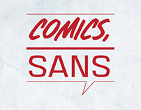 LOGO DESIGN: Comics, Sans podcast and blog
