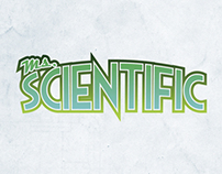 LOGO DESIGN: Ms. Scientific comic book