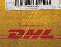 The things we do to deliver - DHL
