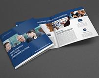 Company Brochure Bi-Fold Square Template Vol.24