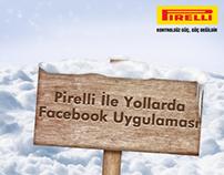 Pirelli İle Yollarda - Facebook Uygulaması