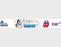 Bashundhara LPG website banner