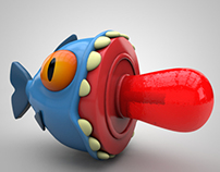 Piranha Lollipop