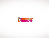 Dunkin' Donuts Logo Animation