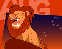 August: Leo the Lion Roars