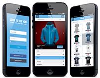 Bejal e-Shop App Concept