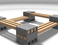 Concreto - Temporary Urban Furniture
