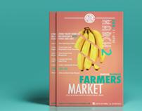 Cafe de Los Sueños Farmers Market Flyer